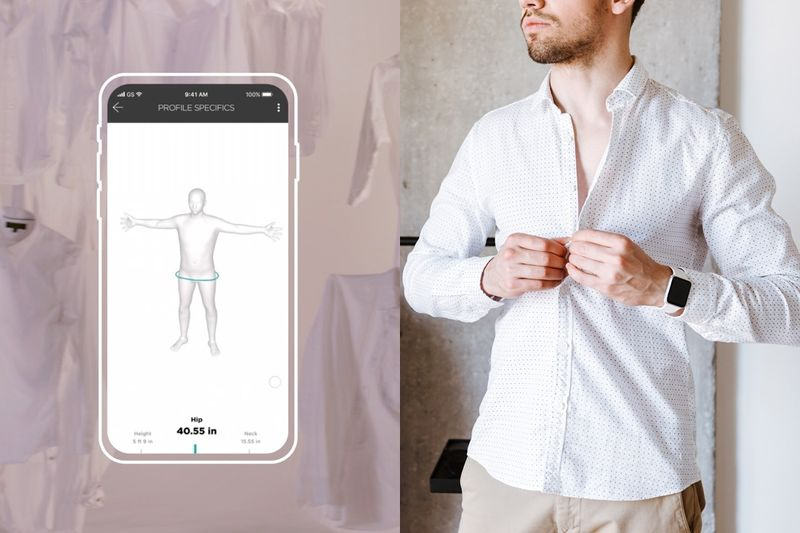 AI-Tailored Dress Shirts