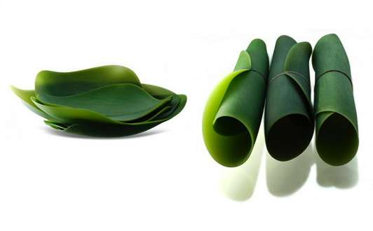 Leafy Salad Salvers