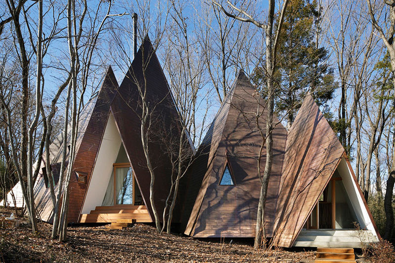 Modernized Teepee Homes