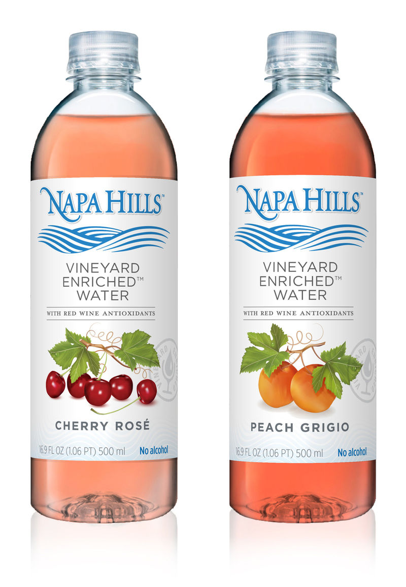 Wine-Inspired Water