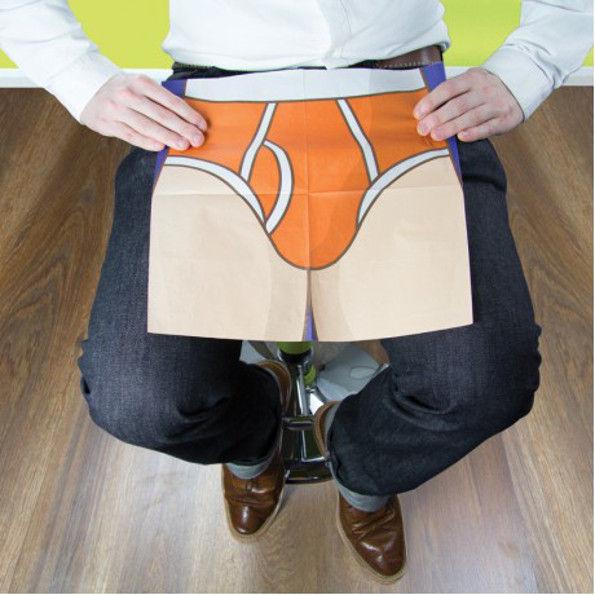 Unfolding Underwear Serviettes