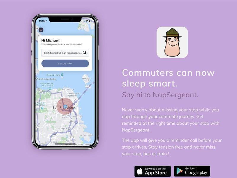 Public Transportation Nap Apps
