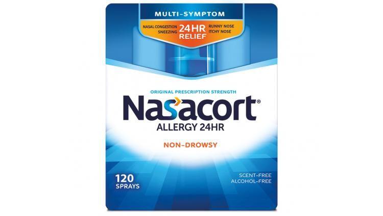 Revamped Nasal Spray Packages