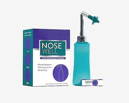 Congestion-Alleviating Nasal Rinse Systems