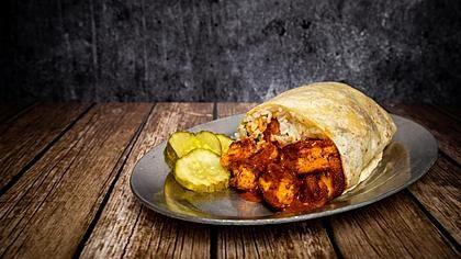 Regional Hot Chicken Burritos