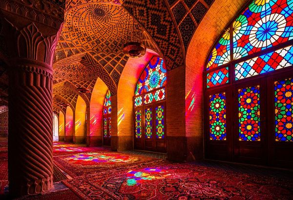 Illuminated Kaleidoscopic Mosques
