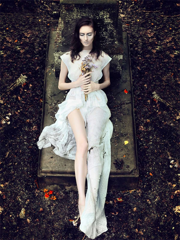 Whimsical Cemetery Photos