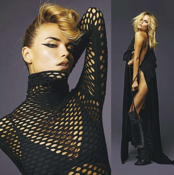 Monochromatic Fishnet Editorials