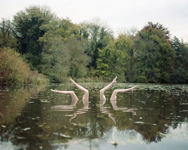 Synchronized Swimming Photography