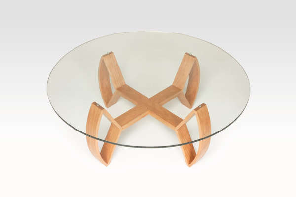 Wooden Weaponry-Inspired Tables