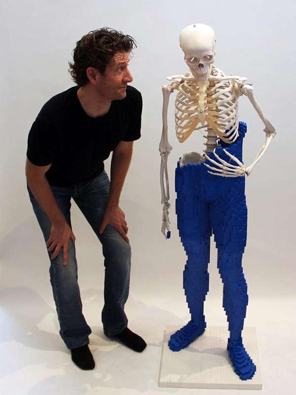 Toy Blocks-Shrouded Skeletons