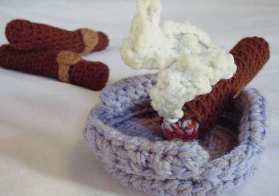 Crocheted Cigars