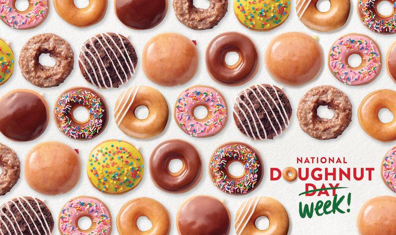 Week-Long Donut Celebrations