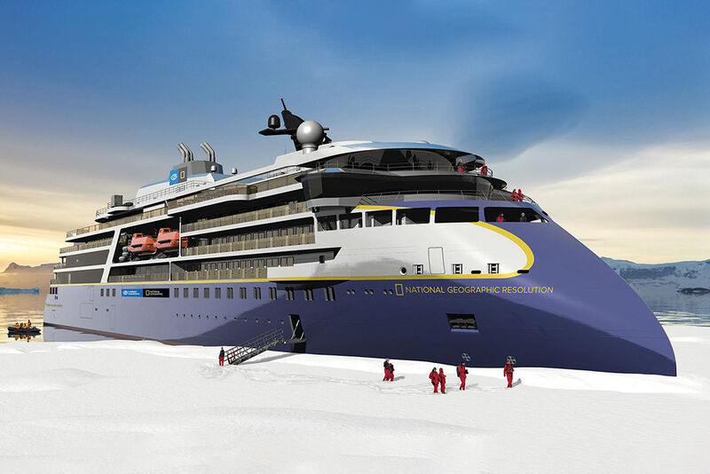 Polar Expedition Cruise Ships