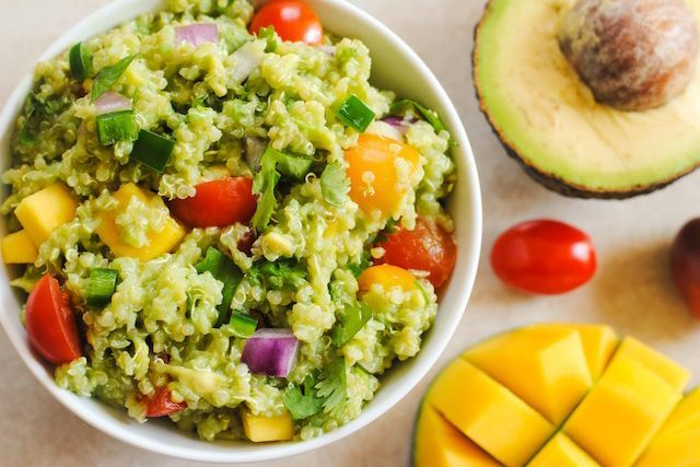 Guacamole Quinoa Recipes