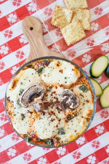 Layered Lasagna Dips
