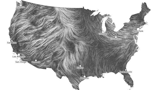 Blustery Aerial Maps