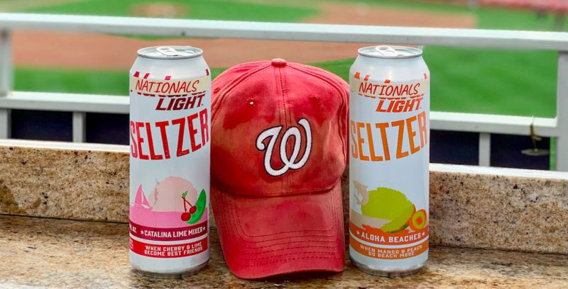 Underdog-Themed Spiked Seltzers