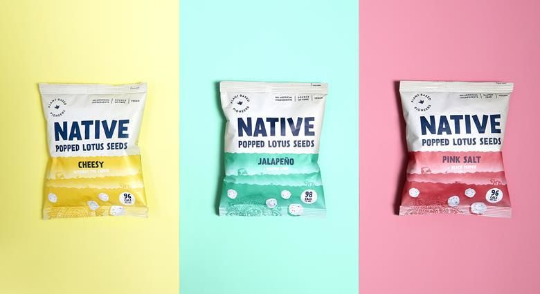 Plant-Based Popped Seed Snacks