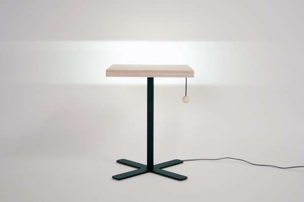 Pull-Cord Lamp Tables