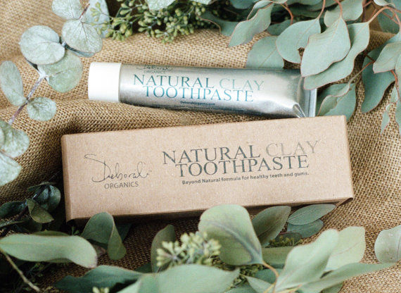 Organic Clay Toothpastes