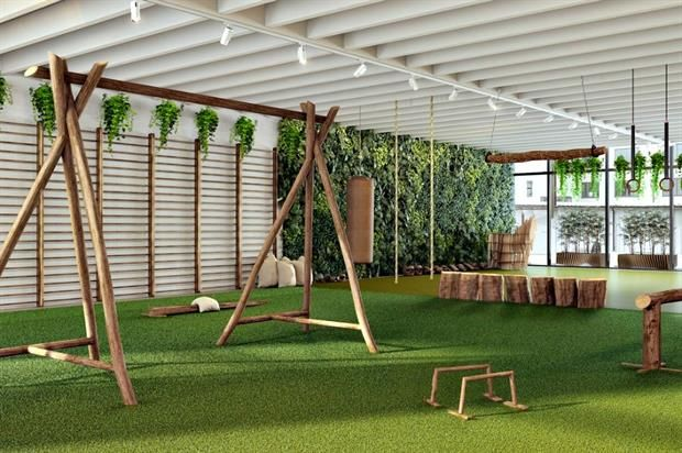 Natural Gym Pop-Ups