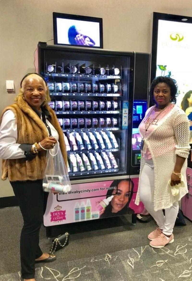 Natural Haircare Vending Machines