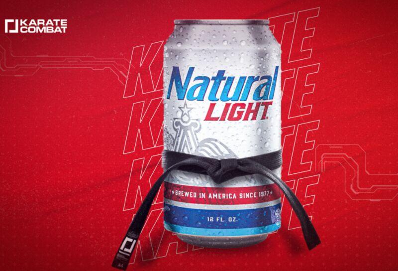 Karate-Branded Beer Campaigns