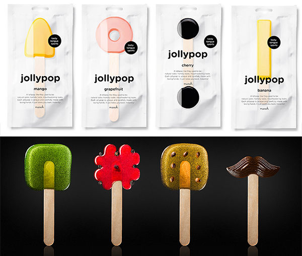 Handmade Natural Lollipops