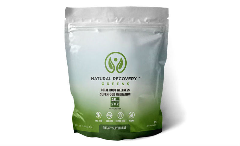 Athletic Recovery CBD Drinks