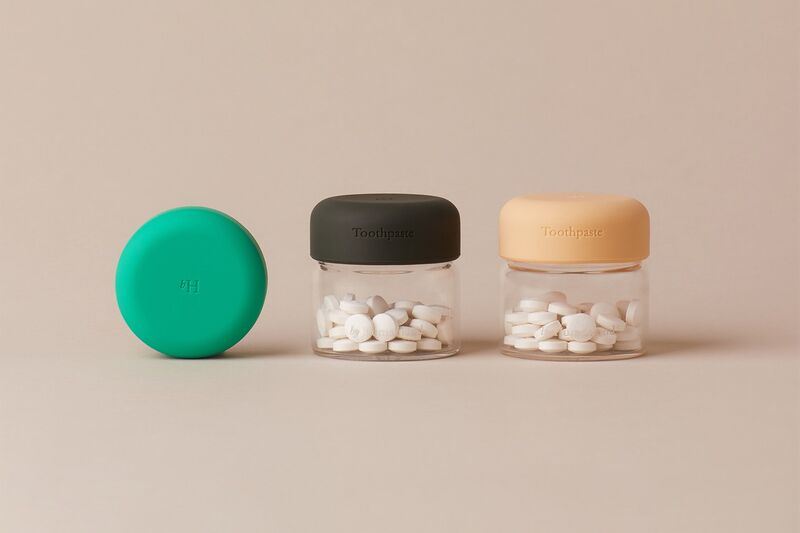 Natural Toothpaste Tablets