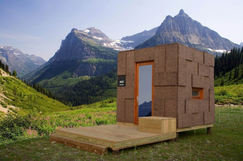 Prefab Outdoor Cork Cabins
