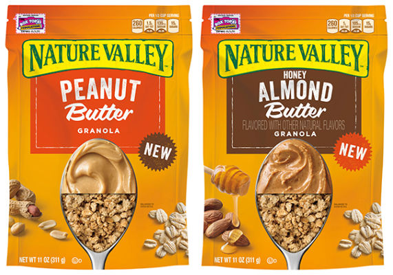 Nut Butter Granolas