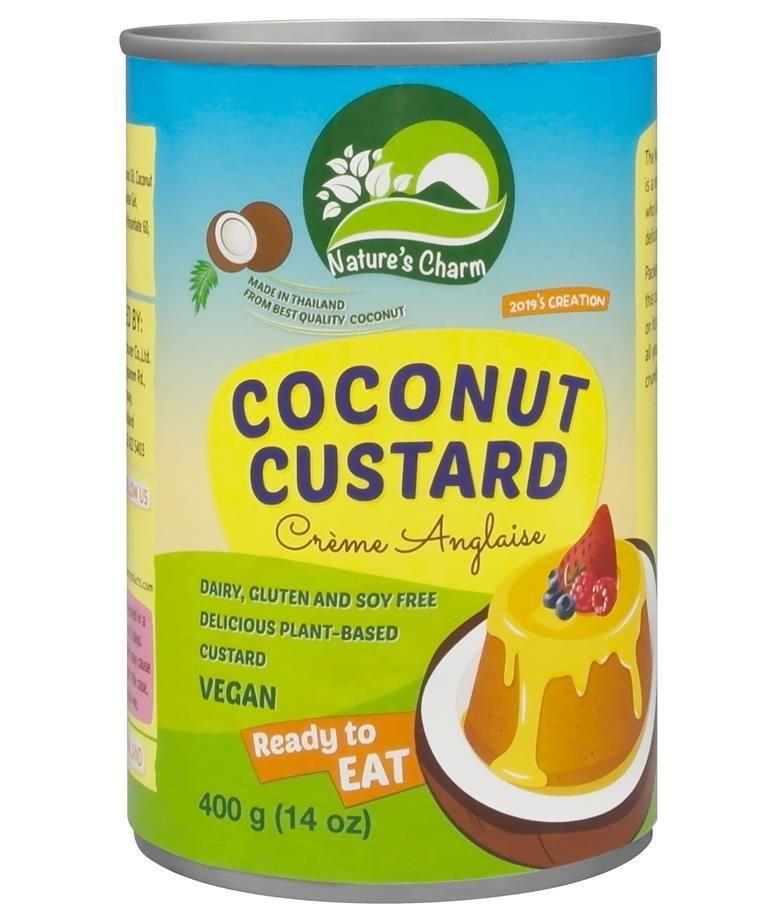 Dairy-Free Canned Custard Desserts