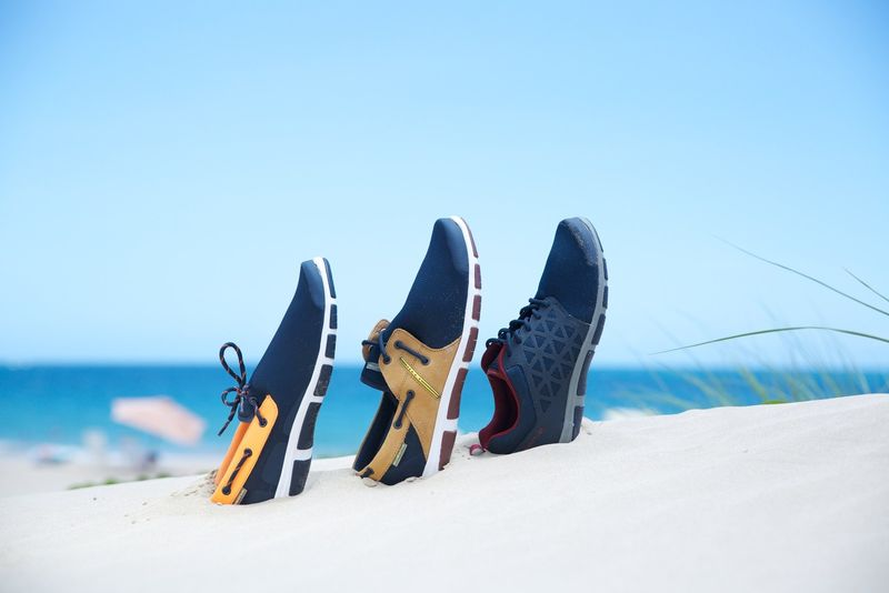 Adventurous Nautical Footwear