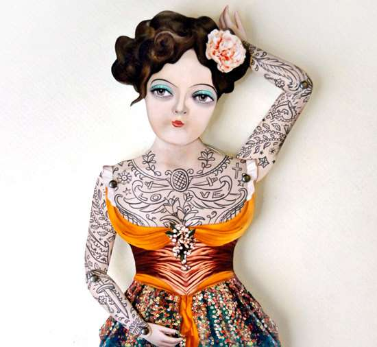 Nautical Tattooed Dolls