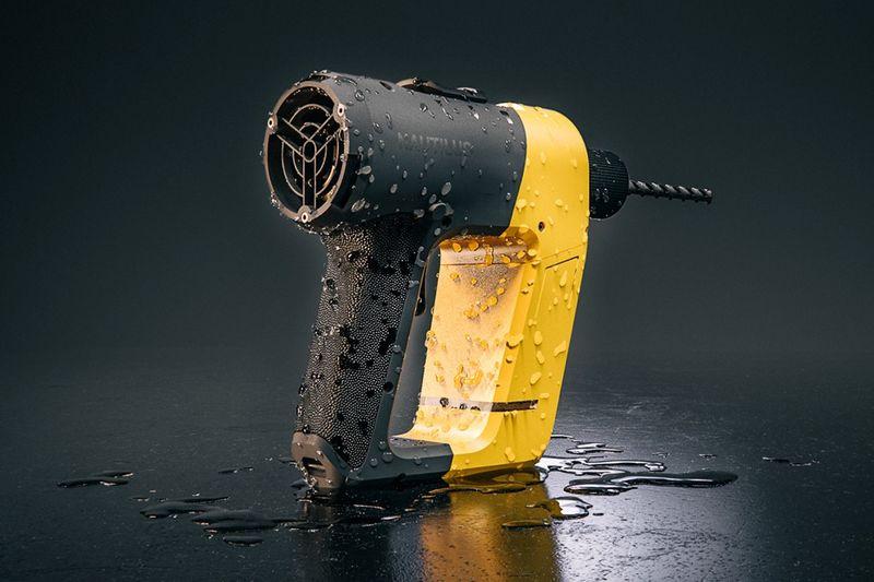 Ergonomic Underwater Drills
