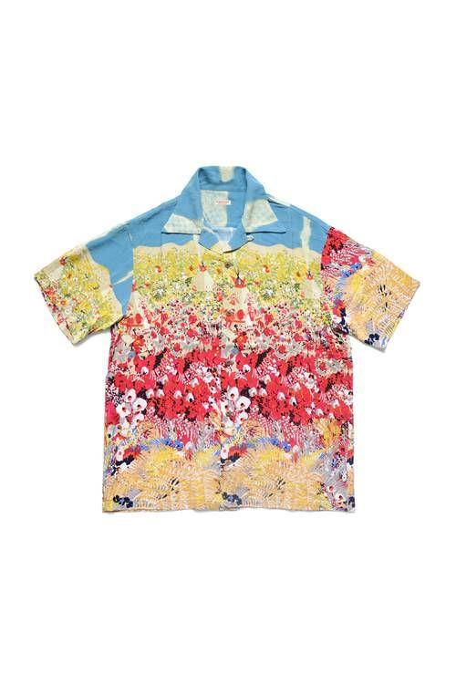 Bright Painterly Hawaiian Shirts