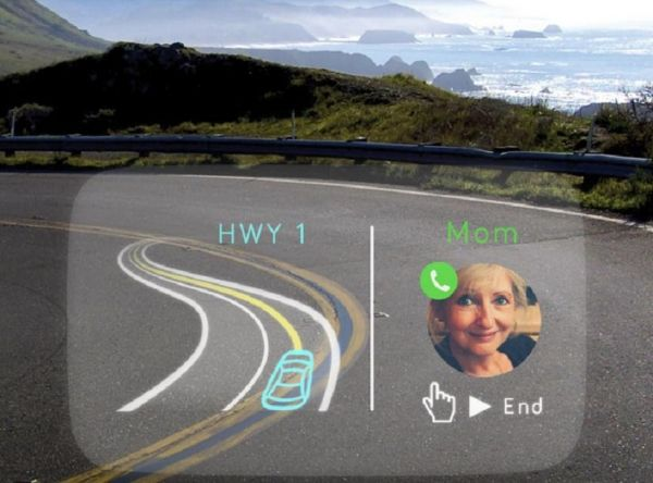High-Tech Windshield Displays
