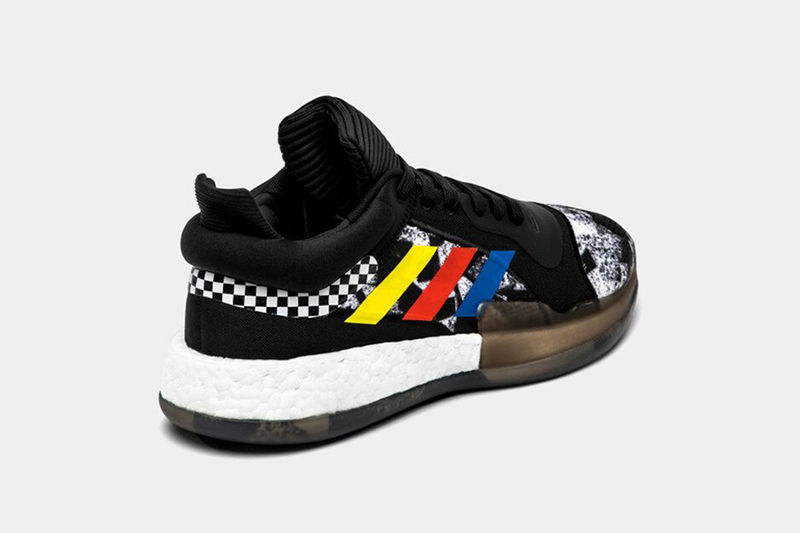Race-Inspired Basketball Shoes
