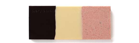 Neapolitan Chocolate Bars