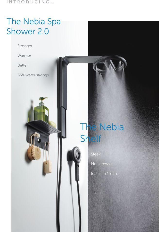 Next-Gen Eco Showerheads