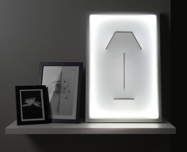 Sculptural Fabric Outline Illuminators