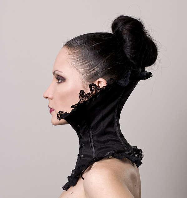 Gothic Neck-Accentuating Accessories