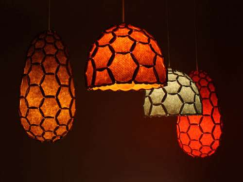 Organic Honeycomb Lighting