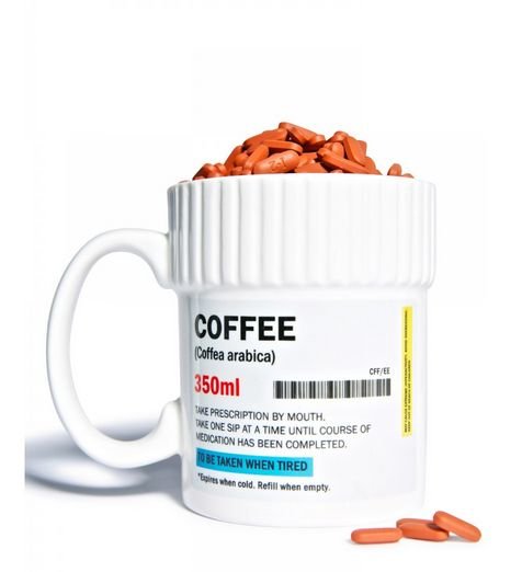 Medicine-Inspired Coffee Mugs