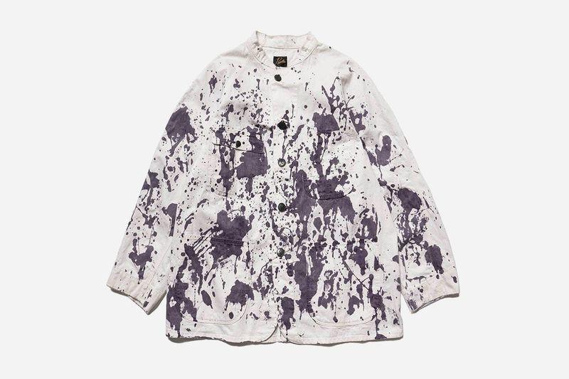 Paint-Splattered Spring Fashion