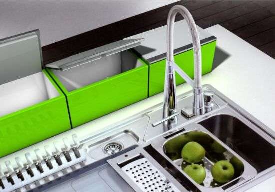 Mounted Colored Refrigerators