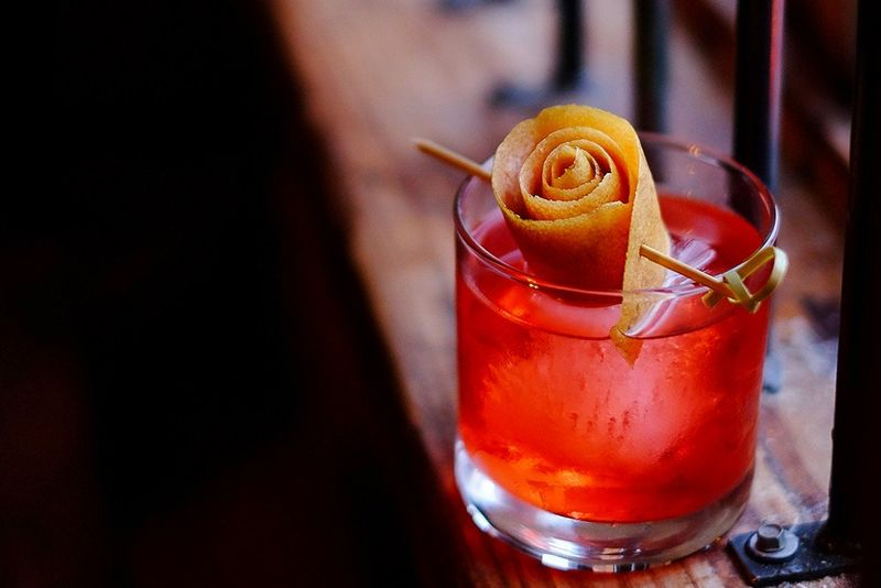 Charitable Negroni Cocktails