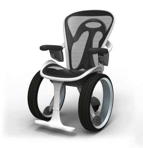 Supercar-Inspired Wheelchairs